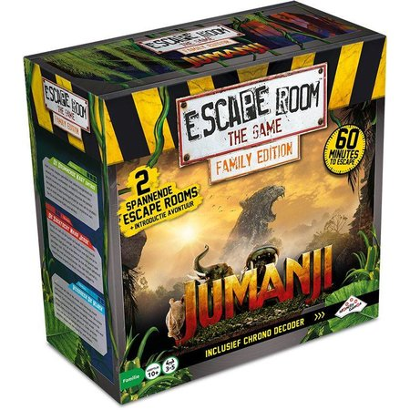 Identity Games Escape Room: The Game Family Edition - Jumanji