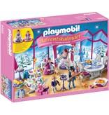 Playmobil Adventskalender Kerstfeest in salon Playmobil
