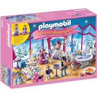 Adventskalender Kerstfeest in salon Playmobil