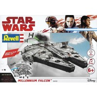 Millennium Falcon Build & Play Revell: schaal 1:164
