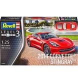 Revell Vehicles 2014 Corvette Stingray Revell schaal 125