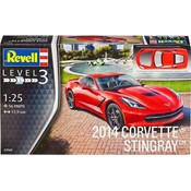 2014 Corvette Stingray Revell schaal 125