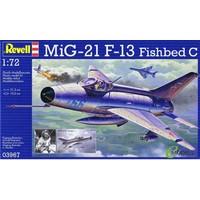MiG-21 F-13 Fishbed C Revell schaal 172