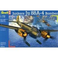 Junkers Ju 88A-4 Bomber Revell: schaal 1:72