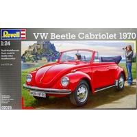 Volkswagen Beetle Cabriolet 1970 Revell schaal 124