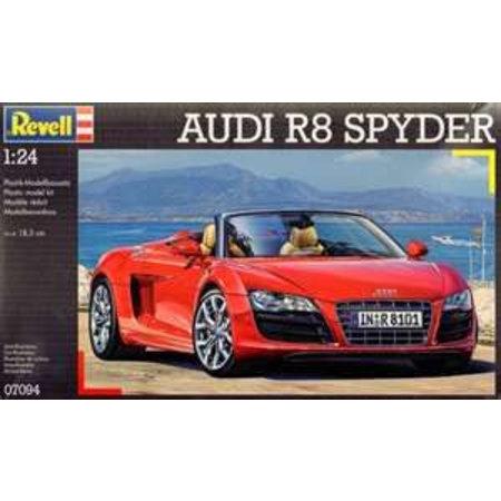 Revell Vehicles Audi R8 Spyder Revell schaal 124