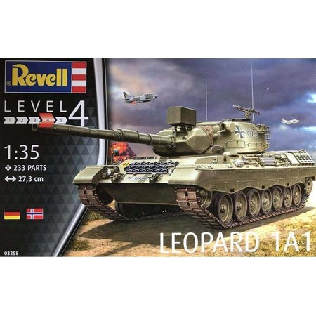 Revell Militairy Leopard 1A1 Revell schaal 135
