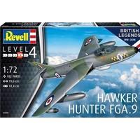 Hawker Hunter FGA.9 Revell: schaal 1:72
