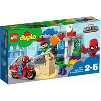 Spider-Man en Hulk avonturen Lego Duplo