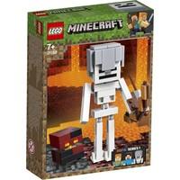BigFig skelet met magmakubus Lego