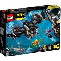 Batduikboot en het onderwatergevecht Lego