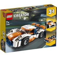 Zonsondergang baanracer Lego