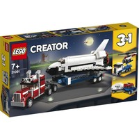 Spaceshuttle transport Lego