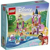 Ariels Aurora`s en Tiana`s koninklijke viering Lego