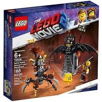 Gevechtsklare Batman en Metaalbaard Lego