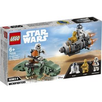 Escape Pod vs Dewback Microfighters Lego