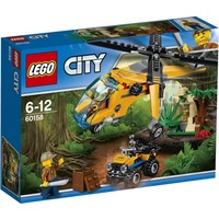 Jungle vrachthelikopter Lego