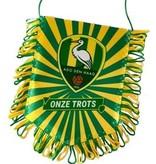 ADO Den Haag Banier ado geel/groen trots