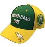 ADO Den Haag Cap ado senior geel/groen 3d