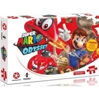 Puzzel Mario Odyssey: Mario en Cappy 280 stukjes