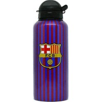 Bidon barcelona blauw/rood aluminium spelers 400 ml