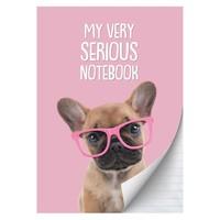 Schrift Studio Pets A4 gelijnd