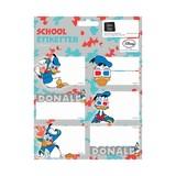 Etiketten Donald Duck: 18 stuks
