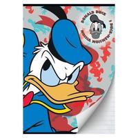 Schrift Donald Duck A4 gelijnd