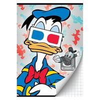 Schrift Donald Duck A4 geruit