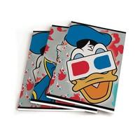 Schrift Donald Duck A5 gelijnd: 3-pack