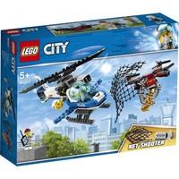 Luchtpolitie drone-achtervolging Lego
