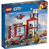 Brandweerkazerne Lego