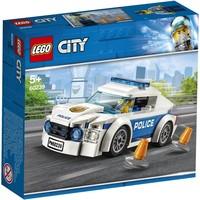 Politiepatrouille auto Lego