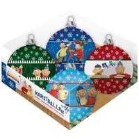 Kerstballen Buurman en Buurman 4-pack