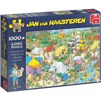 Puzzel JvH: Kamperen in het Bos 1000 stukjes