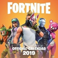 Kalender Fortnite 2019: 30x30 cm
