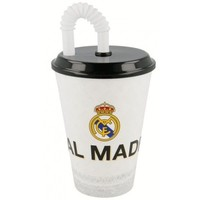 Beker met rietje real madrid 430 ml