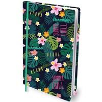 Boekenkaft rekbaar Dresz A4: Tropical Flower