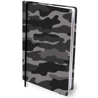 Boekenkaft rekbaar Dresz A4: Grey Camo
