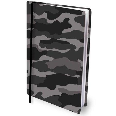 Dresz Boekenkaft rekbaar Dresz A4: Grey Camo (10010201102)