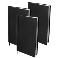 Boekenkaft rekbaar Dresz A4: 3-pack Black