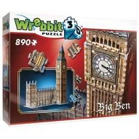 Puzzel Wrebbit Big Ben 3d: 890 stukjes