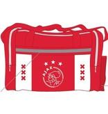 AJAX Amsterdam Sporttas Ajax wit/rood/wit xxx 50x28x30 cm