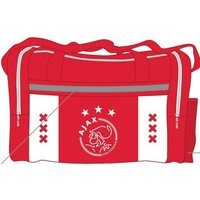 Sporttas ajax wit/rood/wit xxx: 50x28x30 cm