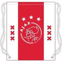 Zwemtas Ajax wit/rood/wit xxx 34x45 cm