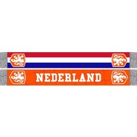 Sjaal holland rood/wit/blauw KNVB
