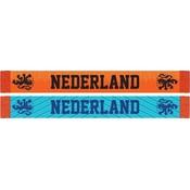 Sjaal holland oranje/blauw KNVB