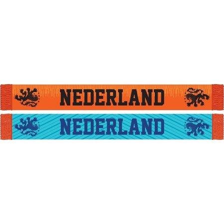 Holland Sjaal holland oranje/blauw KNVB