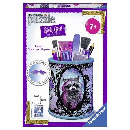 Ravensburger Puzzel Girly Girl Animal Pennenbak 3d