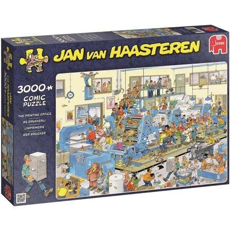 Jan van Haasteren Puzzel JvH: De Drukkerij 3000 stukjes